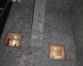 Badkamer met mozaïek